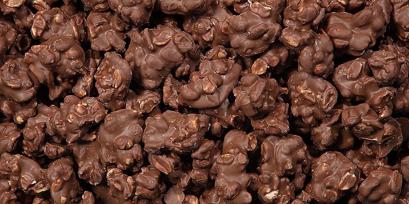 normal Chocolade Pindarotsen Melk
